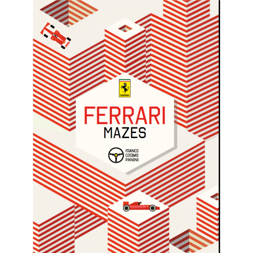 Ferrari Mazes Book - English edition
