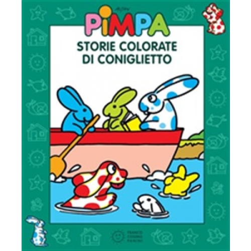 Pimpa storie colorate di Coniglietto Ebook