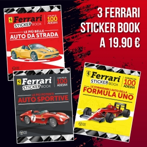 Ferrari libri sticker